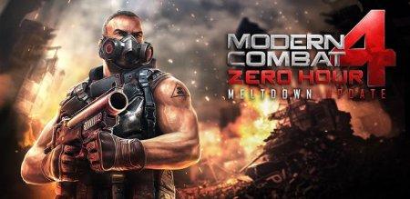 Modern Combat 4 Zero Hour (Андроид) -  крутой шутер для смартфона