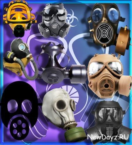 Картинки на прозрачном фоне - Защитные маски