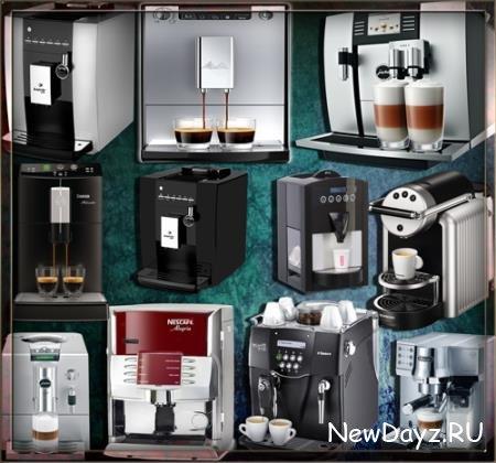 Прозрачные клипарты для фотошопа - Домашние кофейни